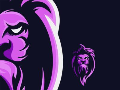 lion logo deign lion king lion lions lion logo lion head esport icon illustration branding tshirt art mark identity design logo