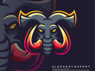 elephant esport logo esport logo elephant logo elephant esport logo esport icon illustration branding tshirt art mark identity design logo