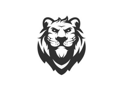 lion logo vector esport icon illustration branding tshirt art mark identity design logo