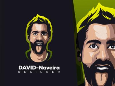 man illustration logo design esport icon illustration branding art tshirt mark identity design logo