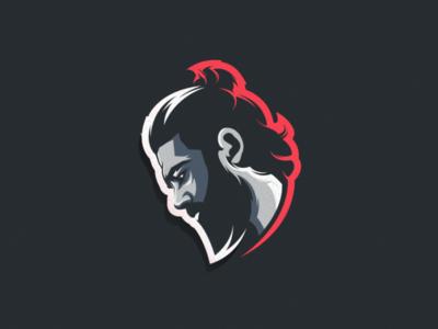 man design vector esport icon illustration branding tshirt art mark identity design logo