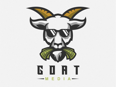 goat logo goat logo goat icon illustration emblem branding tshirt art mark identity design logo