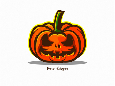 pumpkin pumpkin spice icon illustration branding tshirt art mark design logo ghost ghost party helloween pumpkin