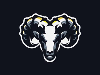 goat logo design esport icon illustration branding tshirt art mark identity design logo
