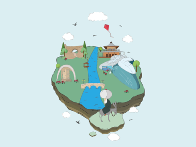Konya City Illustration 3
