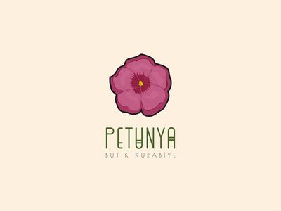 Logo Design - Petunia Boutique Cookies