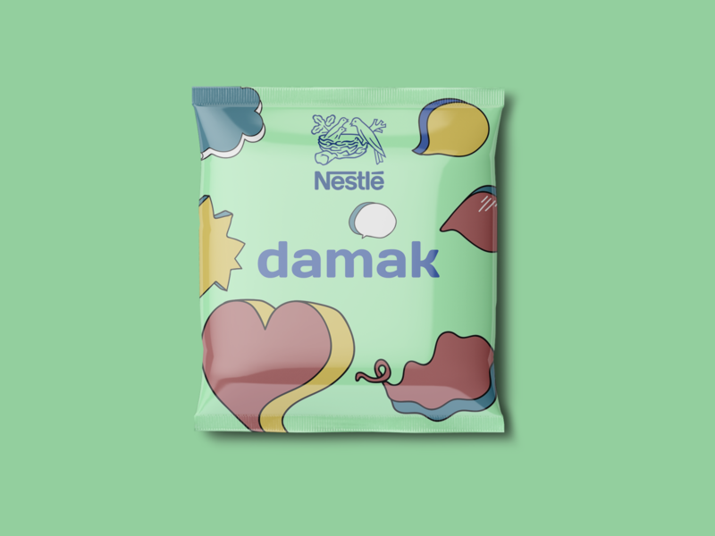 Redesign the Wrapper of Your Favorite Chocolate Candy! firstshot vector illustrator nestle art retro typography chocolate candy packaging flat dribble illustration warmup