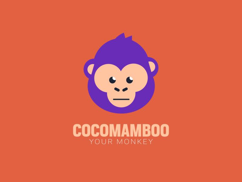 Campaign Logo For My Pet, Cocomamboo popular design branding popular design flat coloful illustration monkey logo pet monkey warmup weekly