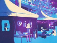 Winter Scene  (Detail 3)