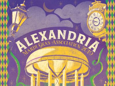Alexandria Mardi Gras Association 2019