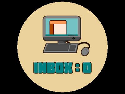 Adult Merit Badge - Inbox Zero