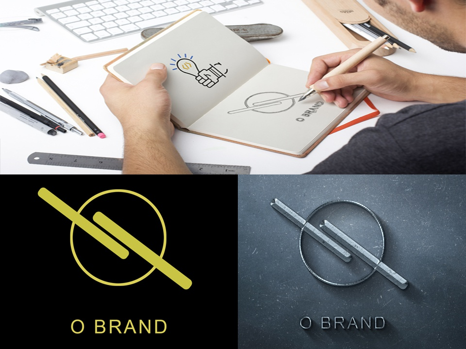 O Brand Logo logo a day lettering animation type flat web logo website vector ui ux typography illustrator illustration identity icon design character branding app