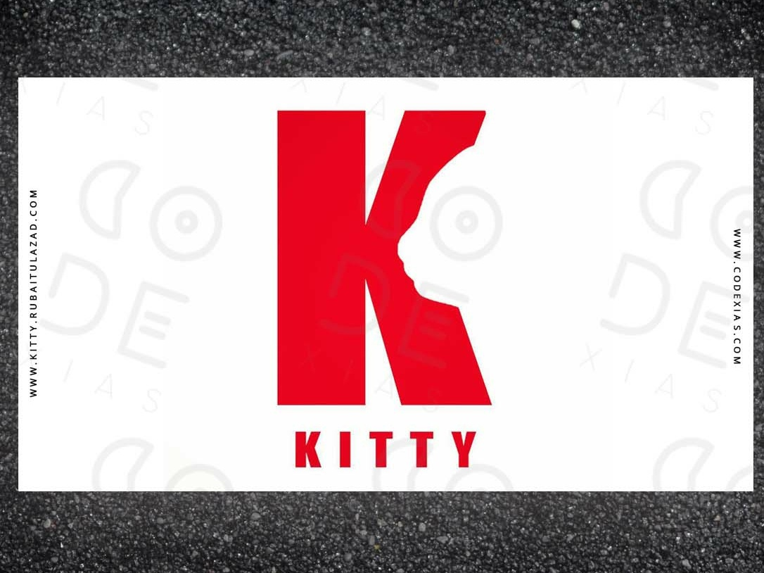 KITTY LOGO designer animated 3d 2019 type lettering illustrator character vector typography app website photoshop web identity ui branding animation ux design