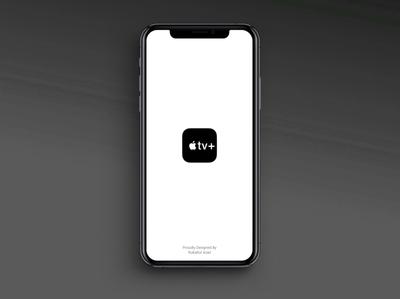 Apple Tv + Animated Splash illustration photoshop animation website typography identity branding ux design apple tv apple