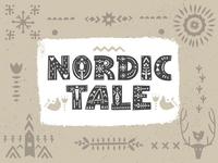 Nordic Tale Font