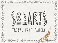Solaris - Tribal Font Family