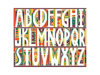 Mosaic Alphabet