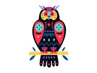 Ethnic Owl