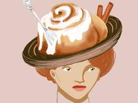 Cinnamon Bun Hat