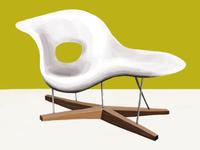 Eames White Lounge Chair