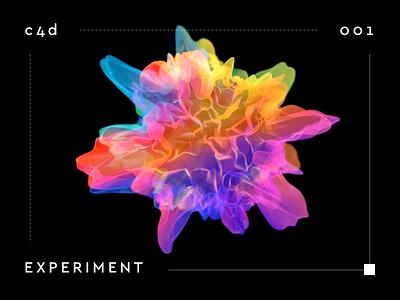 experiment looped design illustration gif cinema 4d render animation c4d 3d