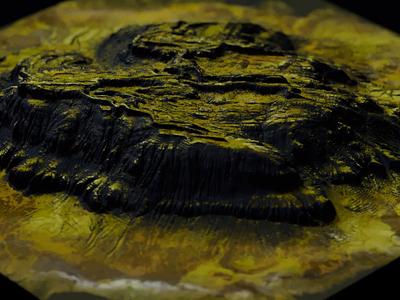 Iceland landscape iceland corona video cinema 4d render animation 3d c4d