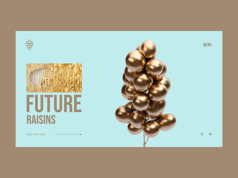 Golden Grapes grapes golden website webdesign web interface grid minimal layout typography design ux ui