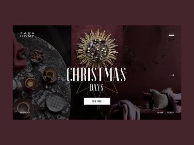 ZARA Home — Christmas
