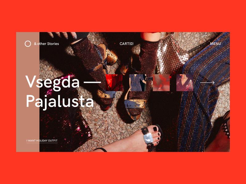 & other Stories — vsegda fashion e commerce website webdesign web interaction interface typography grid minimal layout design ux ui