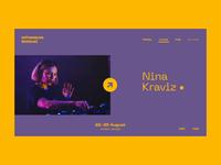 Echowaves Festival — Nina Kraviz