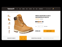 Timberland UX experiment