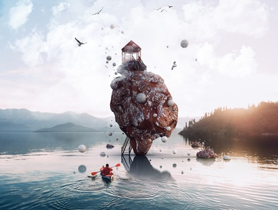 Adobe Dimension splash screen 2018-2019