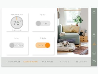 Home Monitoring UI
