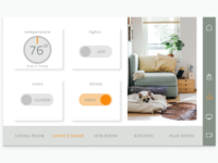 Home Monitoring UI