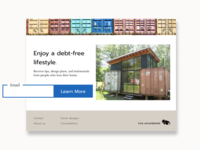 Shipping container website