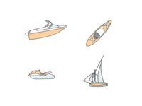 Boating Icons / Water sports?