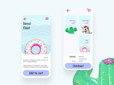 Shopping Cart UI | DailyUI058