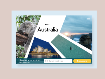 Reserve your trip | DailyUI075