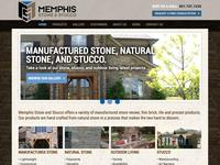 Memphis Stone & Stucco Website Design
