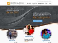 Powers Hill Design Website