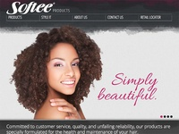 Softee Products Website Design