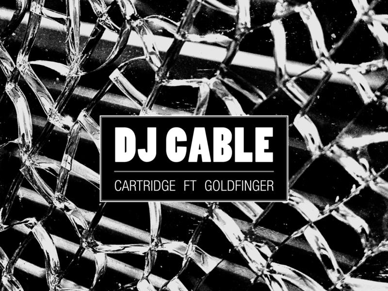 DJ Cable Cartridge Artwork music photography graphic design