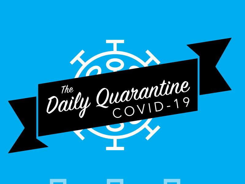 Daily Quarantine Week 1 quarantine coronavirus covid-19 digital art illustration graphic design