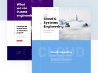 Stepwise Google Cloud Platform Service Subpage website uiux ui software services platform landingpage landing google cloud