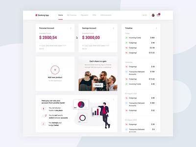 Banking App - Transferring Money application stepwise desktop funds ux ui transaction fintech finance transfer money transfer banking dashboard banking bank balance app