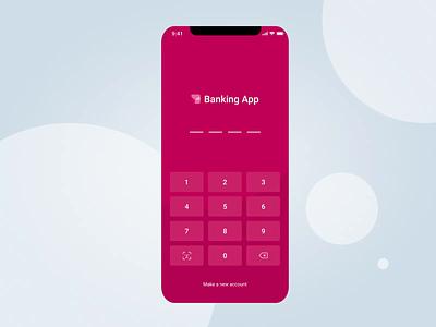 Banking Mobile App - Transferring Money ux ui transfer money transfer transaction stepwise funds fintech finance mobile banking bank balance app