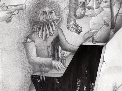 Cover illustration for CD