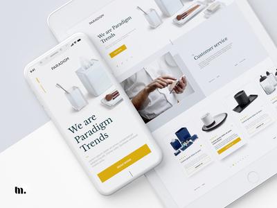 Paradigm | UI/UX design