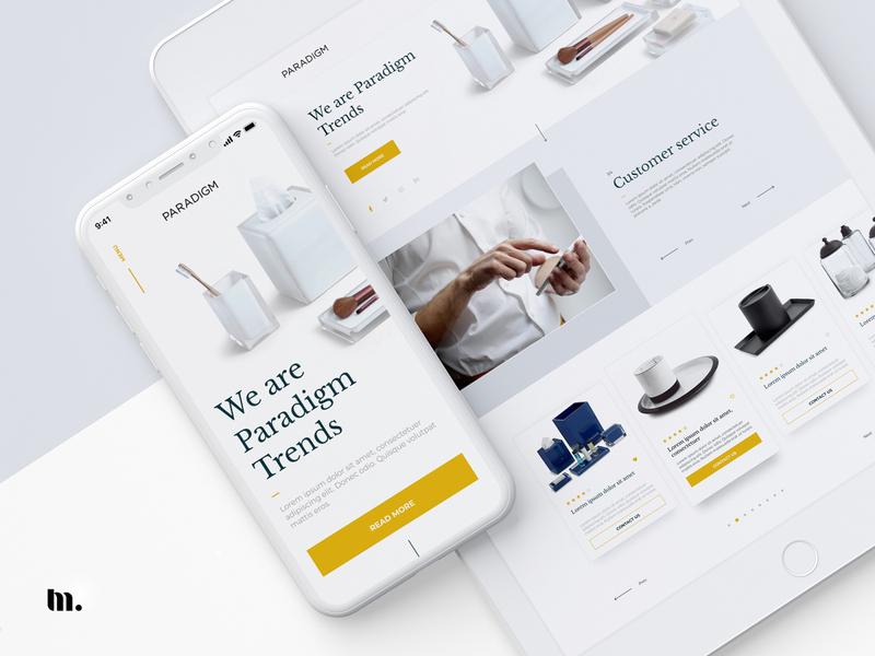 Paradigm | UX/UI design mobile app desktop uxdesign uidesign web design ux  ui website design mobile design mobile ui website 3d dribbble design clean ux ui