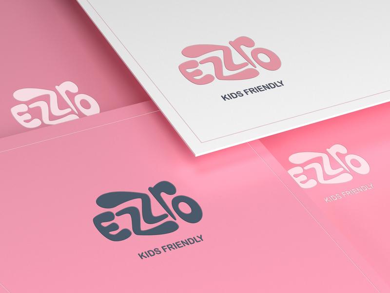 Ezzro | Logo design minimal branding logofont icondesign clean dribbble minimal illustrator lettering type clean creative design flat brand illustration identity icon typography vector logo branding